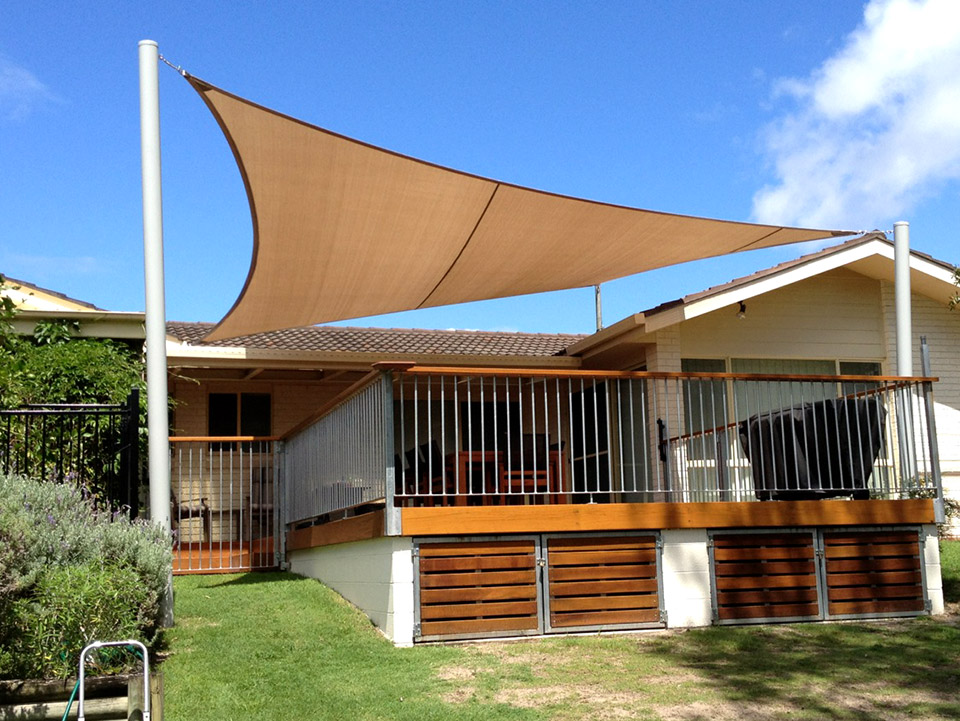 Benefits of shade sails shade sails adelaide south for Shade sail cost