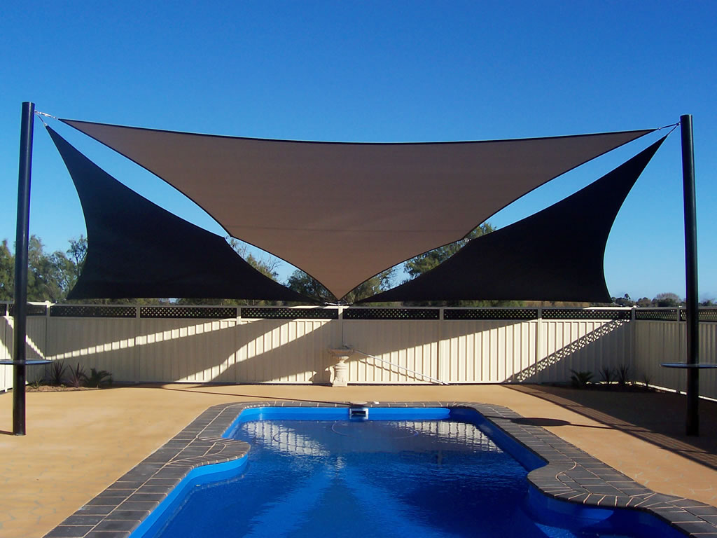 Pools shade sails adelaide south australia for Shadesails com