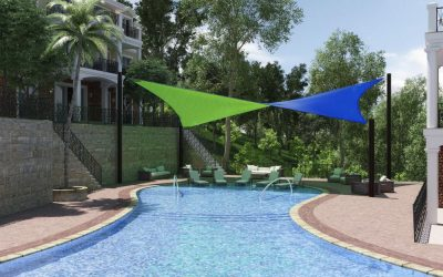 New Dual Colour Shade Sails